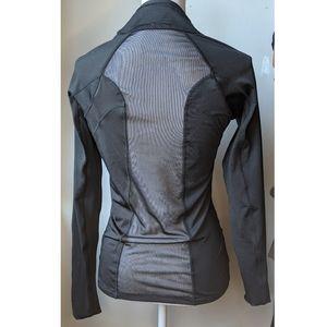 Jessica Simpson | Open Back - Sheer Black Jacket